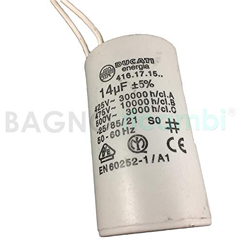 SPA Condensador 14UF para Sanitrit Sanitop Saniplu Sanipack X2380