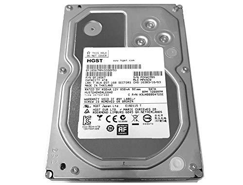 HGST Ultrastar 7K4000 Interne Festplatte (4 TB, 64 MB Cache, 7.200 U/min, SATA III, 6,0 GB/s, 8,9 cm (3,5 Zoll), 5 Jahre Garantie