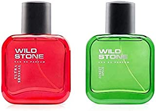 Wild Stone Forest Spice and Ultra Sensual Perfume Combo for Men 30ml (Pack of 2)