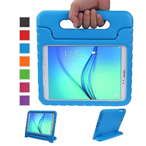 LEADSTAR Kids Case for Samsung Galaxy Tab A 9.7 Shockproof Case Light Weight Super Protection Cover Handle Stand Case for Kids Children For Samsung Galaxy Tab A 9.7-inch SM-T550 SM-P555 (Blue)