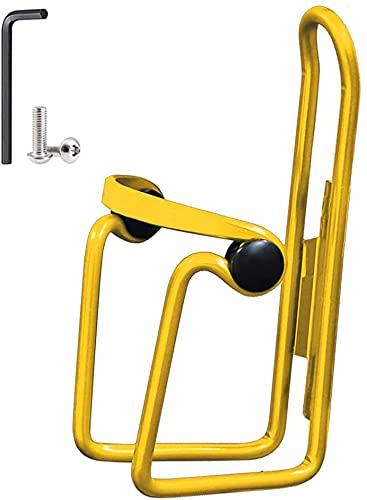 BPDD Portabidón para Bicicleta, portabidón antirrayas para Bicicleta Ajustable de aleación de Aluminio, portabidón para Bebidas Ligeras (2 Piezas)