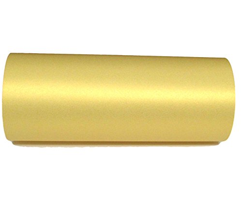 Paquete de 10 hojas A4 nacaradas, brillantes, de color dorado, a doble cara, 120 g/m², para impresoras de inyección de tinta y láser