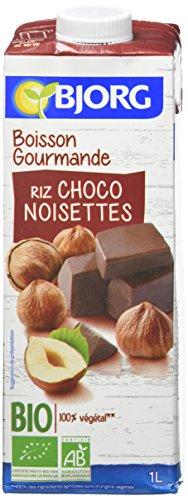 Bjorg Boisson Gourmande Riz Choco Noisettes Bio 1L - lot de 2