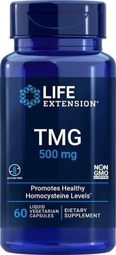 TMG Trimethylglycine 500mg (30 LVCAPS) Life Extension