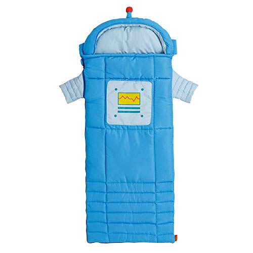 Ozark Trail Campout Youth Sleeping Bag Blue//Teal Camping Sack Camp Kids Teen