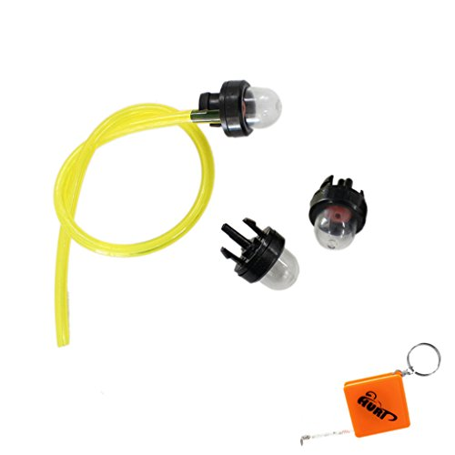 HURI 3x Vergaser Primer Zöndkapsel Pumpe und Kraftstoffschlauch set für Walbro WT-23A WYJ 33 34 45 86 ersetzt 188-512