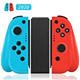 GEEMEE Wireless Controller per Nintendo Switch, Bluetooth Joystick Gamepad Sostituzione per JoyCon, Dual Motori Axis Gyro Compatibile con Ni …