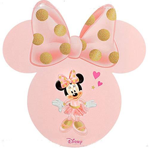 Ingrosso e Risparmio 10 Biglietti con sagoma di Minnie Ballerina...