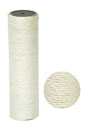 nanook Sisalstamm Ersatzstamm für Kratzbäume - Verschiedene Längen - Durchmesser 9 cm Ø für Gewinde M8 - Länge 50 cm