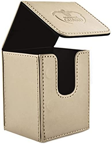 100 Card FlipÃleather Deck Case, Sand by Ultimate Guard