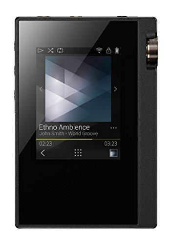 Onkyo Europe Electronics Dp-S1 digitale Hi-Res Audioplayer zilver