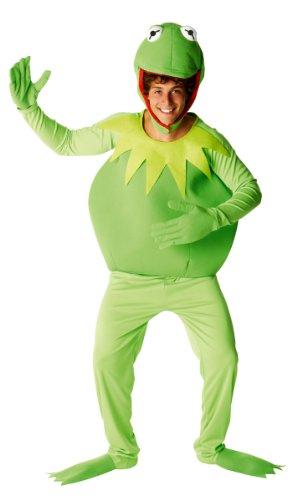 Generique - Kermit-Kostüm Muppets Show für Herren M / L