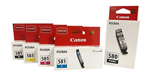 Printercartridges voor Canon Pixma TR7550, TR8550, TS6150, TS6151, TS8150, TS8151, TS8152, TS9150, TS9155 (bk/pbk/c/y/m)