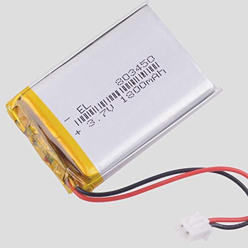Dilezhiwanjuwu 3,7V 1800mAH [803450] Polymer Lithium-Ionen/Li-Ionen-Akku für GPS mp3 mp4 mp5 DVD Bluetooth Modell Spielzeug