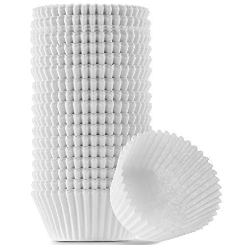White Cupcake Liners Standard Size