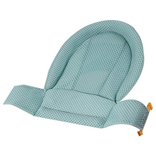 GuanXian Red de seguridad para bañera de bebé, soporte de seguridad para niños recién nacidos, red de seguridad ajustable, malla para cuna para baño infantil (color: verde)