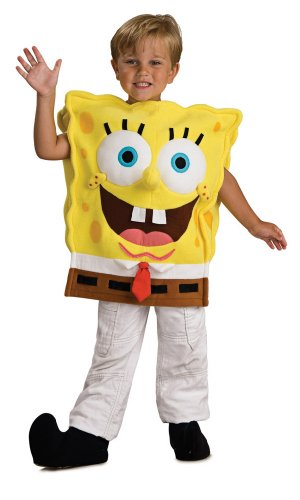 Rubie's Deluxe Kostüm Spongebob Kinder