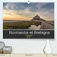 Normandie et Bretagne (Premium, hochwertiger DIN A2 Wandkalender 2022, Kunstdruck in Hochglanz): Beaux endroits en Normandie et en Bretagne (Calendrier mensuel, 14 Pages )