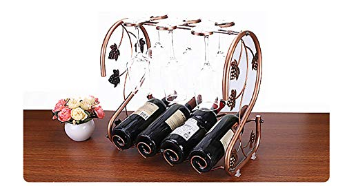 Estante para Botellas, Estante para Vino, Estante para Vino múltiple, Estante para Botellas Decoración para el hogar Estante para vinos para Cocina, Restaurante, Bar, decoración del hogar y la Cocina
