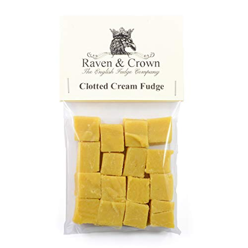 Clotted Cream Fudge. Weichkaramell, handgemacht in Deutschland. Raven & Crown 100g