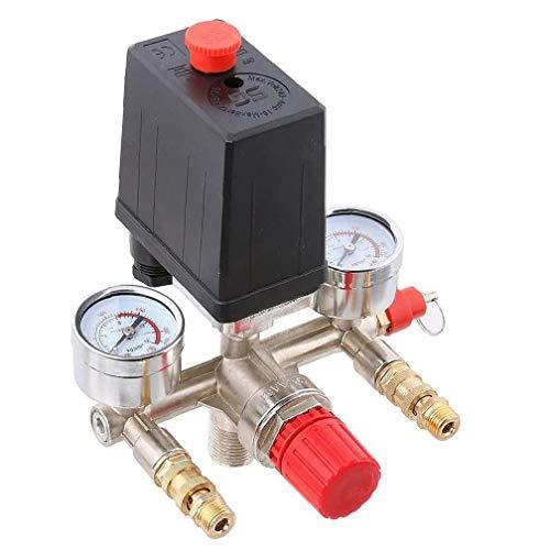 Odoukey Luftkompressor automatische Drucksteuerschalteranordnung Auslass Regler