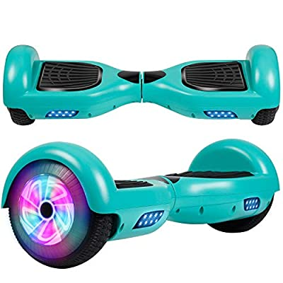 Felimoda Hoverboard 6.5'' Self Balancing Scooter w/UL 2272 Certified LED Lights for Adults Kids