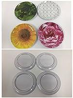 kate spade new york Patio Melamine Tidbit Plate Set, Floral [並行輸入品]