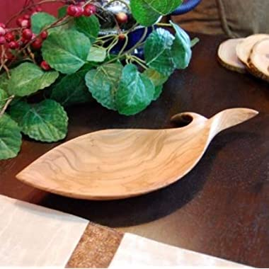 From The Earth - Olive Wood Fish Dish - Fair Trade & Handmade