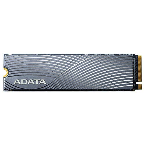 ADATA Swordfish 2TB 3D NAND PCIe Gen3x4 NVMe M.2 2280 Read/Write up to 1800/1200MB/s Internal SSD (ASWORDFISH-2T-C)