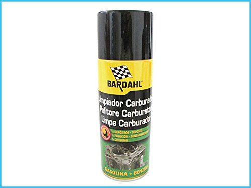 BARDAHL Fuel System Cleaner Spray Pulitore Carburatori Sistemi di Iniezione 400 ml