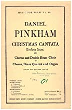 Christmas Cantata (Sinfonia Sacra) (Music For Brass No. 602) for Chorus (SATB) and Double Brass Choir with Latin and English Texts