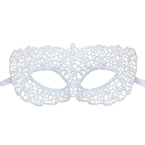 Máscaras Blancas Carnaval Marca Jamron