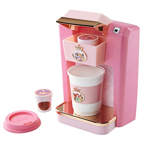 Disney Princess Style Collection Play Gourmet Coffee Maker, 4 Piece Set