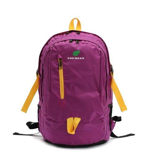 Simple à dos Violet Sport Sac à dos Laptop Backpack
