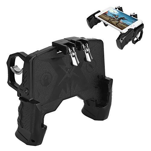 Queen.Y Game Controller Handy Griff Griff Shooter Empfindliche Joystick Ziel Trigger Feuerknopf Tragbare Controller Gamepad mit Triggern