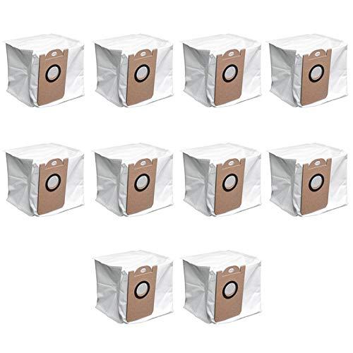 SODIAL Accessoires de Collecteur de PoussièRe Ensembles de Sacs à PoussièRe Kits D'Accessoires pour M7 Pro M8 Pro Robot Aspirateur Balayeuse 10 PièCes