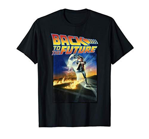 Back To The Future Classic Poster Maglietta