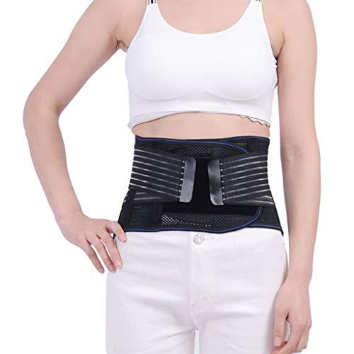 ZFF Cinturón Lumbar Soporte Parte Inferior Espalda Imán For del Alivio Dolor con Calentamiento Automático For Hombres Y Mujeres (Size : XXL/XX-Large)