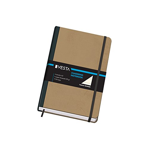 Dohe Vesta Nature - Cuaderno rayado, A5