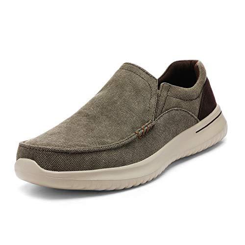 Bruno Marc Mocassins wandelschoenen voor heren, slip on loopschoenen, licht vrijetijdsschoenen, wandelschoenen