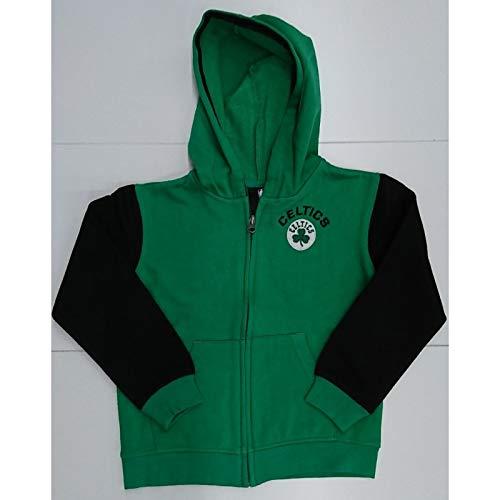 NBA Boston Celtics Outer Stuff - Chaqueta con cremallera, color verde