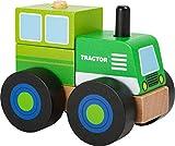 Small Foot- Véhicule Bois, certifié FSC 100%, Tracteur à...