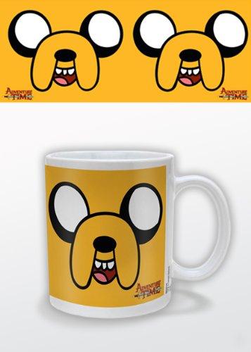 Adventure Time Jack - Taza de cerámica, diseño de Jack MG22143 - Taza Hora de Aventuras Jake
