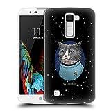 Head Case Designs Oficial Star Trek Doctor Mccoy Gatos Tos Carcasa rígida Compatible con LG K10 / K10 Dual SIM