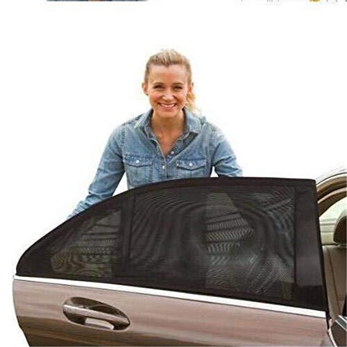 fire bird Simple y practico Auto Vehículo de Escape de Malla Escudo Parasol Visera de protección UV Neto Anti Mosquito Ventana, Fundas, tamaño: window113x50cm Posterior, Simple y práctico
