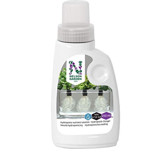 Hydroponische Nährstoffe von Nelson Garden - Universal-Flüssigdünger für Hydrokultur Pflanzen - enthält Makro- und Mikronährstoffe (250ml)