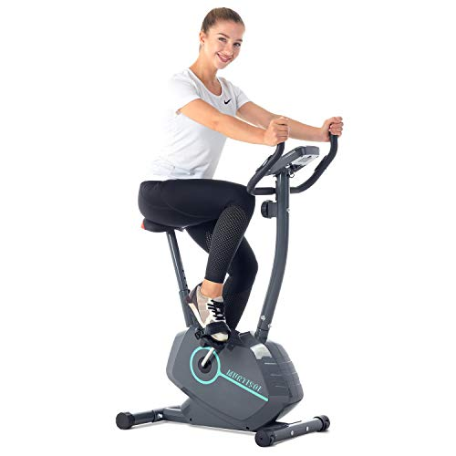 Murtisol Upright Exercise Bike Indoor Cycling Bike Stationary Bike with Magnetic Control Adjustable Height Phone Holder belt Bikes Exercise indoor magnetic quiet upright