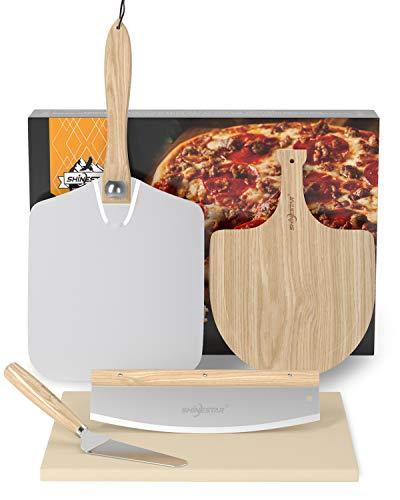 Pizzastein Rechteckig, aus Cordierit,...