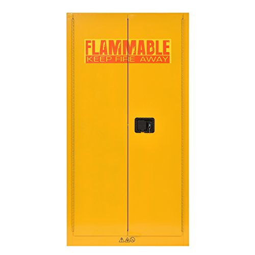 "Sandusky Lee SC600F Flammable Liquid Safety Storage Cabinet 60 gal, 65"" Height, 34"" Width, 34"" Length,"