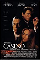 CASINO (1995) Movie Poster Painting Canvas Wall Art Wall Picture Living Room Decor Home Decor Canvas Print 50x70cm Unframed